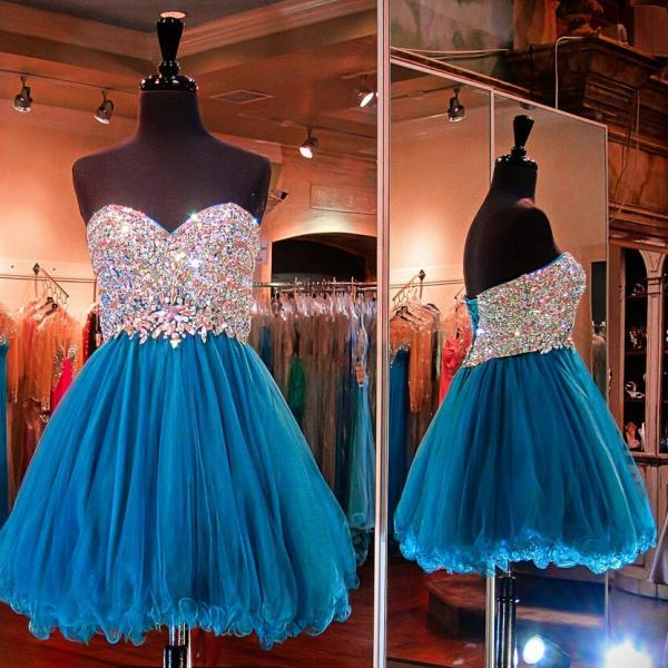 Cheap homecoming dresses 2017,Homecoming dress,Sexy blue Homecoming Dress Short Prom Party Gown,cheap short sexy Prom dresses .