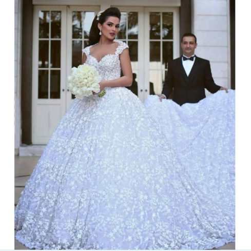 Cheap wedding dresses 2017,White or Ivory Sweetheart Ball Gown Wedding Gown Lace Bridal Dress,Custom Made