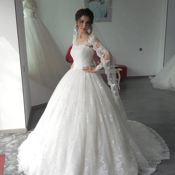 Cheap wedding dresses 2017,Charming Wedding Dress,Lace Wedding Dresses,Ball Gown Wedding Gown,