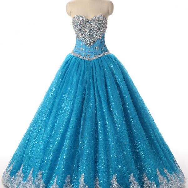 Cute Quinceanera Dresses,Blue Quinceanera Dresses, Princess Quinceanera Dresses