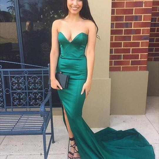 Sexy Evening Dress,Backless Mermaid Evening Gowns,Long Prom Dresses,Formal Gown, Long Dress for Prom