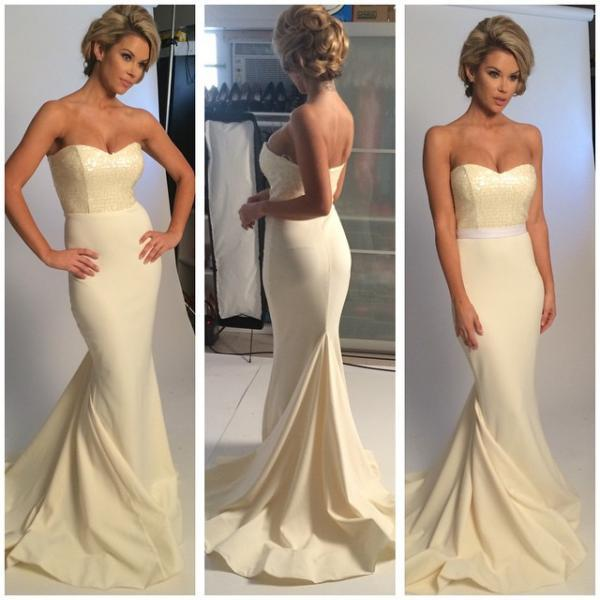 Charming Prom Dress,Backless Mermaid Prom Dresses,Long Evening Dress,Sexy Prom Party Gown