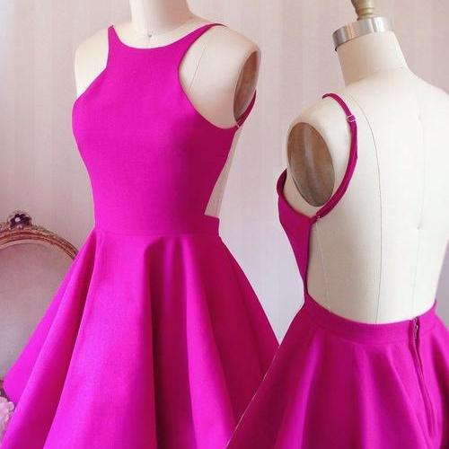 Short Homecoming Dress,Backless Prom Dress,Bridesmaids Dress,Fashion Prom Dress,Sexy Party Dress, 2017 New Evening Dress