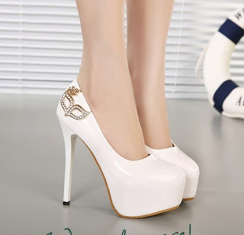 ca937abab0 Beautiful Round Toe High Heels on Luulla